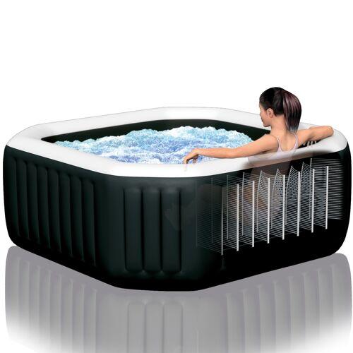 "Intex Whirlpool ""Pure Spa Kombi Octagon Bubble Jet"" mit integriertem Salzwassersystem"