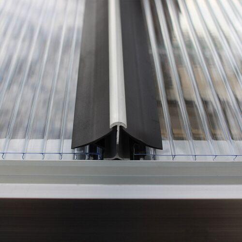 Pergart Windsicherung für Gewächshausplatten