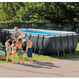 "Intex Frame Swimming Pool Set ""Ultra Quadra XTR"""