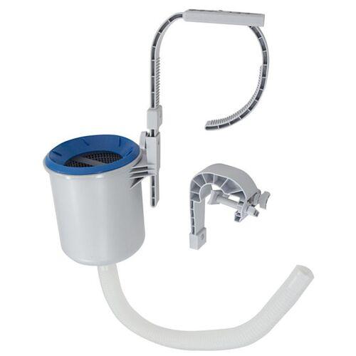 Intex Deluxe Einhängeskimmer (Oberflächensauger) mit Wandhalter für Swimming Pools