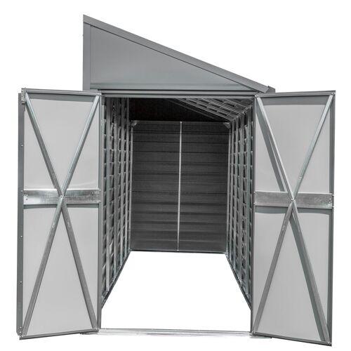 "SpaceMaker Metall-Gerätehaus ""4 x 7"""