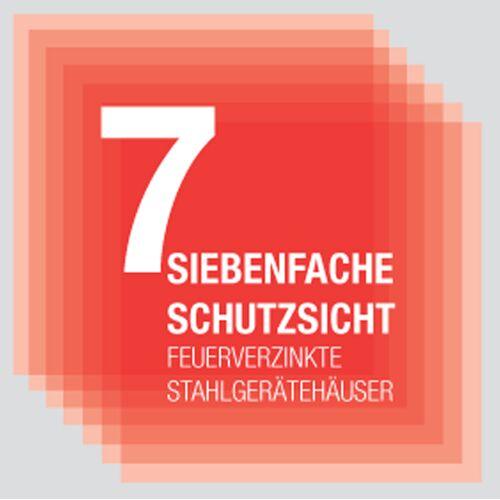 "Yardmaster Metall-Gerätehaus ""Bayern"" Modell 65"