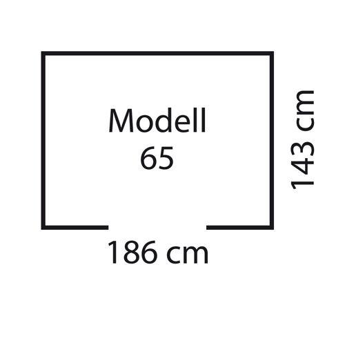 """Pergart Metall-Gerätehaus """"Dresden 65"""""""