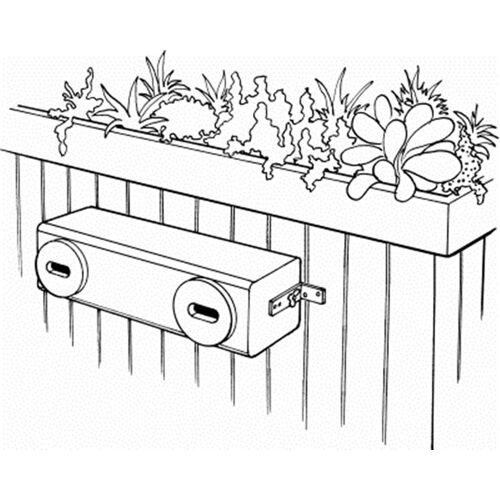 Schwegler Naturschutzprodukt Mauerseglernistkasten Typ Nr. 17C 2fach