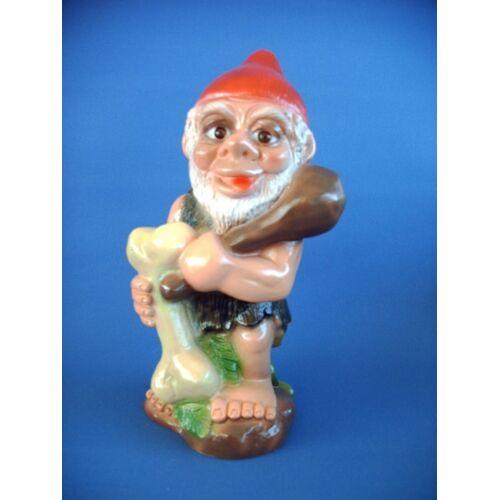 Rakso Gartenzwerg Urzwerg Figur Zwerg H 29 cm aus Kunststoff