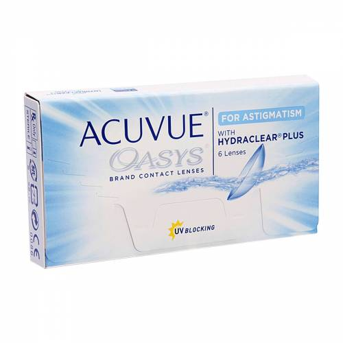 Acuvue Oasys for Astigmatism Wochenlinsen   ACUVUE   6 Linsen