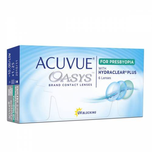 Acuvue Oasys for Presbyopia Wochenlinsen   ACUVUE   6 Linsen