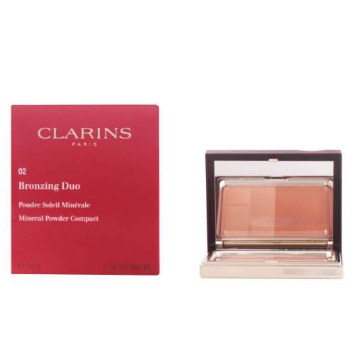Clarins BRONZING DUO  #02-medium 10 g