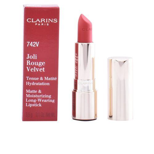 Clarins JOLI ROUGE VELVET  #742V-joli rouge 3.5 g