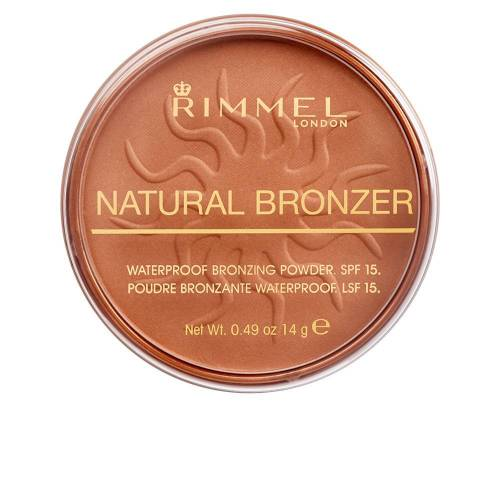 Rimmel London NATURAL BRONZER SPF15  #022-sun bronze 14 g