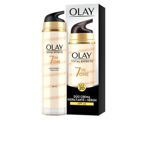 Olay TOTAL EFFECTS dúo crema + serum anti-edad SPF20  40 ml
