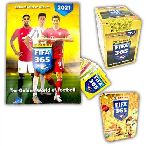 Panini FIFA 365™ Stickerkollektion 2021 – Tin-Box-Bundle
