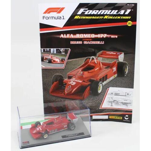 Formula 1 Rennwagen-Kollektion 35 - Bruno Giacomelli (Alfa Romeo 177)