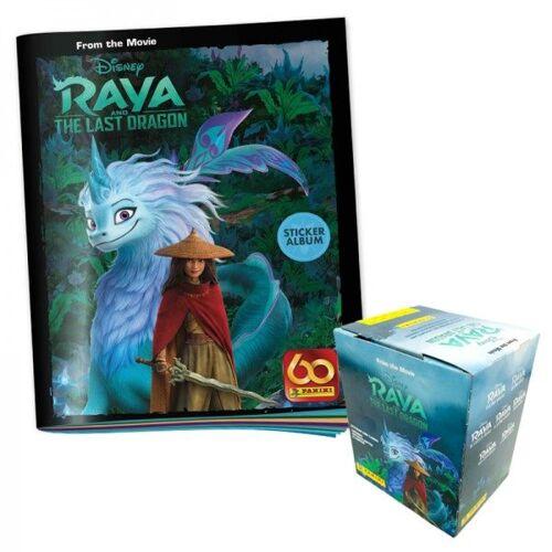 Disney - Raya und der letzte Drache - Sticker und Cards - Box-Bundle