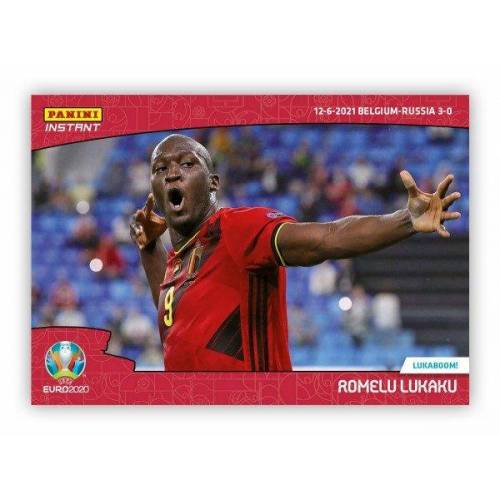 UEFA EURO 2020™ Panini Instant - Card #004 - Romelu Lukaku (Belgium)