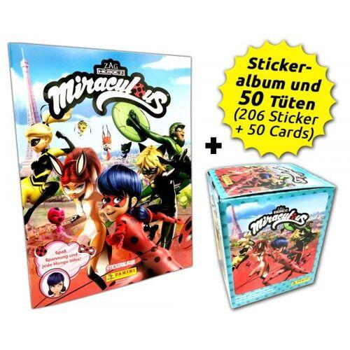 Miraculous Sticker und Trading Cards - Box-Bundle