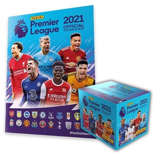 Premier League 2021 Stickerkollektion – Box-Bundle