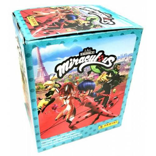 Miraculous Sticker und Trading Cards - Box