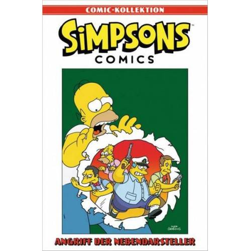 Simpsons Comic-Kollektion 14 - Angriff der Nebendarsteller