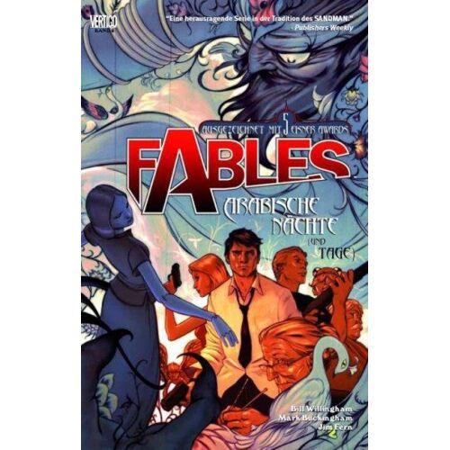 Fables 8 - Arabische Nächte (und Tage)
