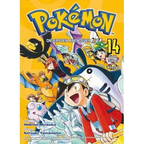 Pokémon - Die ersten Abenteuer 14 - Gold, Silber und Kristall