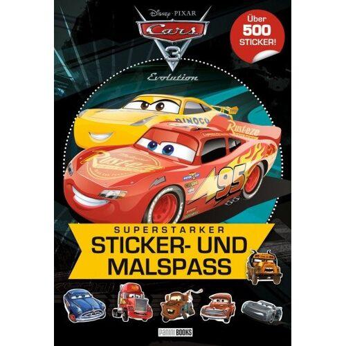 Cars 3 - Superstarker Sticker- und Malspaß