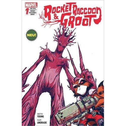 Rocket Raccoon & Groot 1