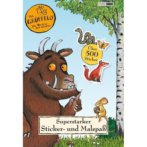Der Grüffelo – Superstarker Sticker- und Malspaß