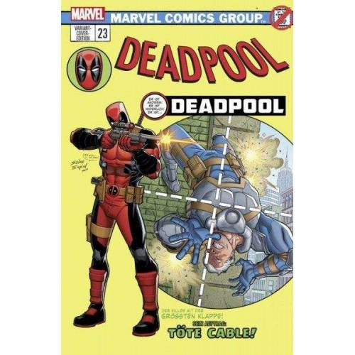 Deadpool 23 (2016) Comic Salon Erlangen Variant