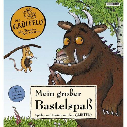 Der Grüffelo - Mein großer Bastelspaß - Spielen und Basteln mit dem Grüffelo