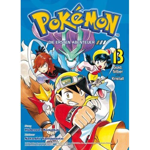 Pokémon - Die ersten Abenteuer 13 - Gold, Silber und Kristall