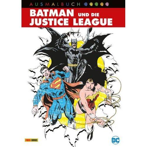Batman und die Justice League - Das Ausmalbuch