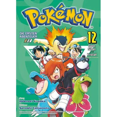 Pokémon - Die ersten Abenteuer 12 - Gold, Silber und Kristall