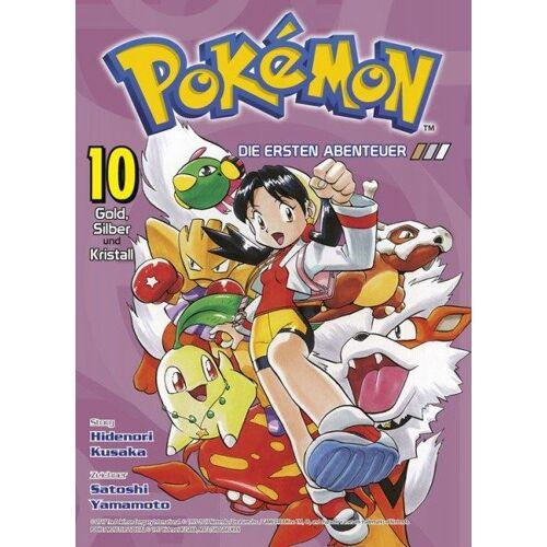 Pokémon - Die ersten Abenteuer 10 - Gold, Silber und Kristall