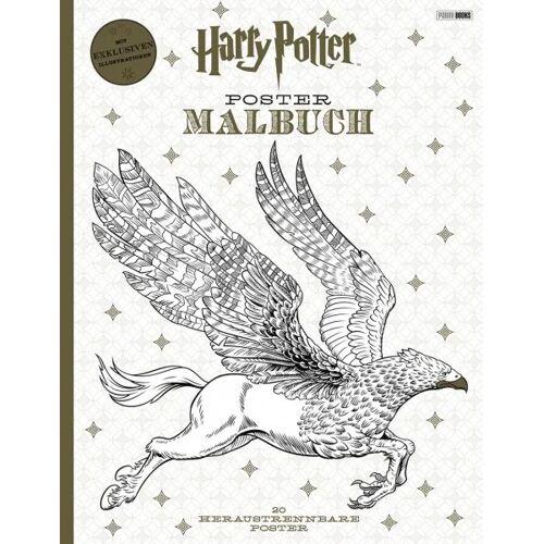 Harry Potter - Postermalbuch