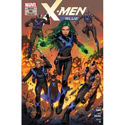 X-Men - Blue 4 - Zu den Waffen
