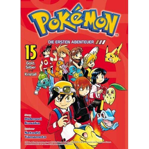 Pokémon - Die ersten Abenteuer 15 - Gold, Silber und Kristall