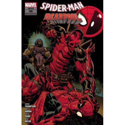 Spider-Man/Deadpool 8 - Deadpool haut rein