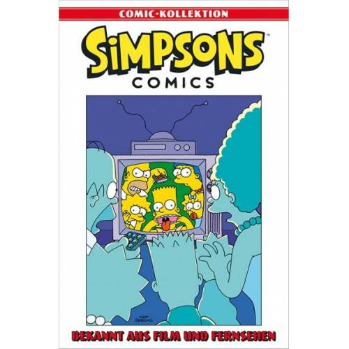 Simpsons Comic-Kollektion 62: Bekannt aus Film und Fernsehen