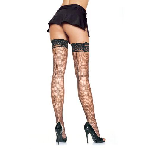 Leg Avenue Stay Up Fishnet Stockings