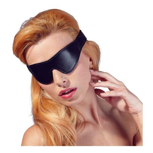 Zado Lederimitat Augenmaske