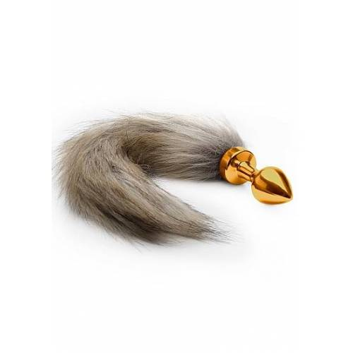 Ouch! Fox Tail Buttplug - Gold