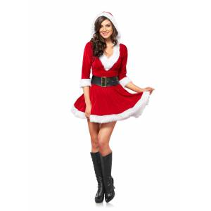 Leg Avenue Mrs. Claus Hooded Dress