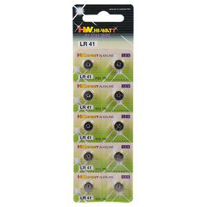 Alkaline Knopfzelle LR41 10er