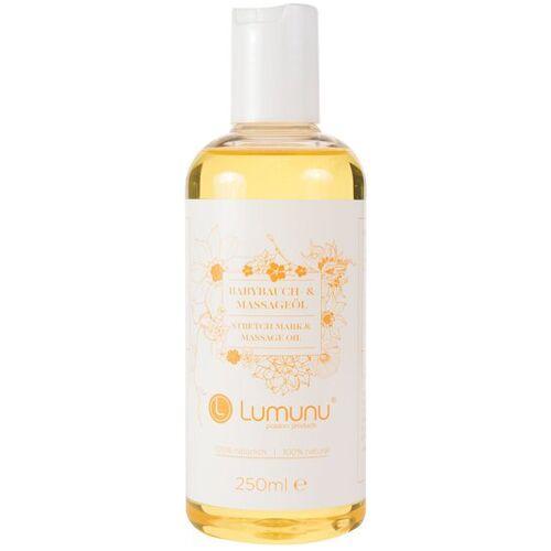 Lumunu Deluxe Babybauch- und Damm-Massageöl (250ml)