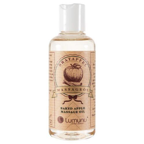 Lumunu Deluxe Massageöl mit Bratapfel Duft