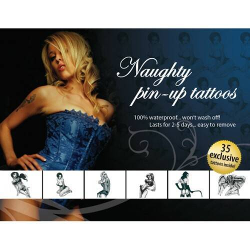 Eropartner Tattoo Set  - Naughty Pin-Up