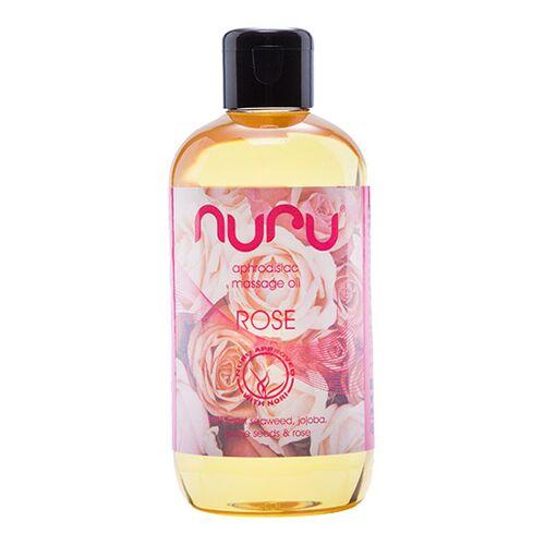 Nuru - Massage Öl Rose (250 ml)
