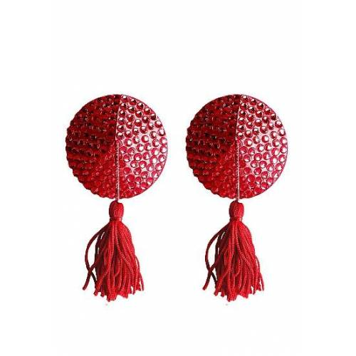 Ouch! Nipple Tassels Round Red