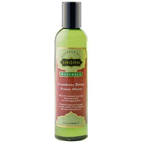 Kamasutra - Naturals Massage oil (Erdbeere)